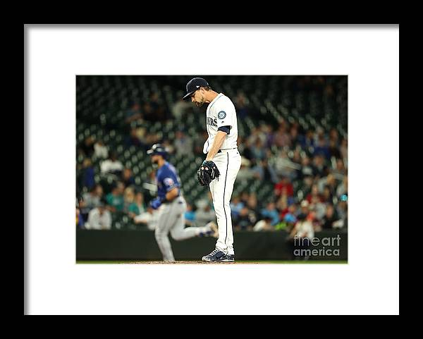 People Framed Print featuring the photograph Mike Leake and Joey Gallo by Abbie Parr
