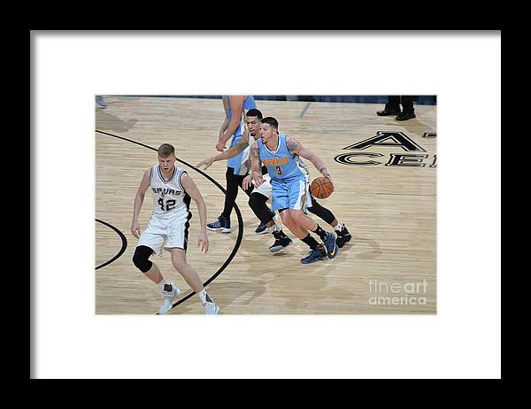 Nba Pro Basketball Framed Print featuring the photograph Mike Miller by Mark Sobhani
