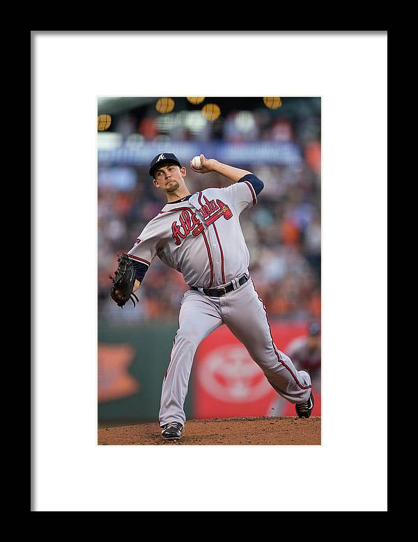 San Francisco Framed Print featuring the photograph Mike Minor by Jason O. Watson