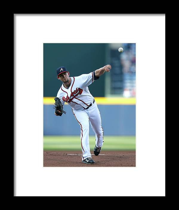 Atlanta Framed Print featuring the photograph Mike Minor by Kevin C. Cox