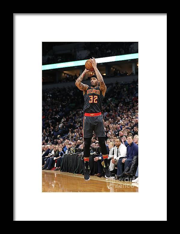 Nba Pro Basketball Framed Print featuring the photograph Mike Scott by Jordan Johnson