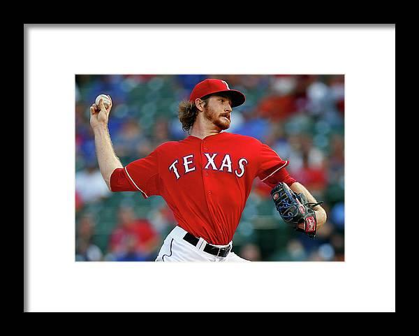 American League Baseball Framed Print featuring the photograph Miles Mikolas by Tom Pennington