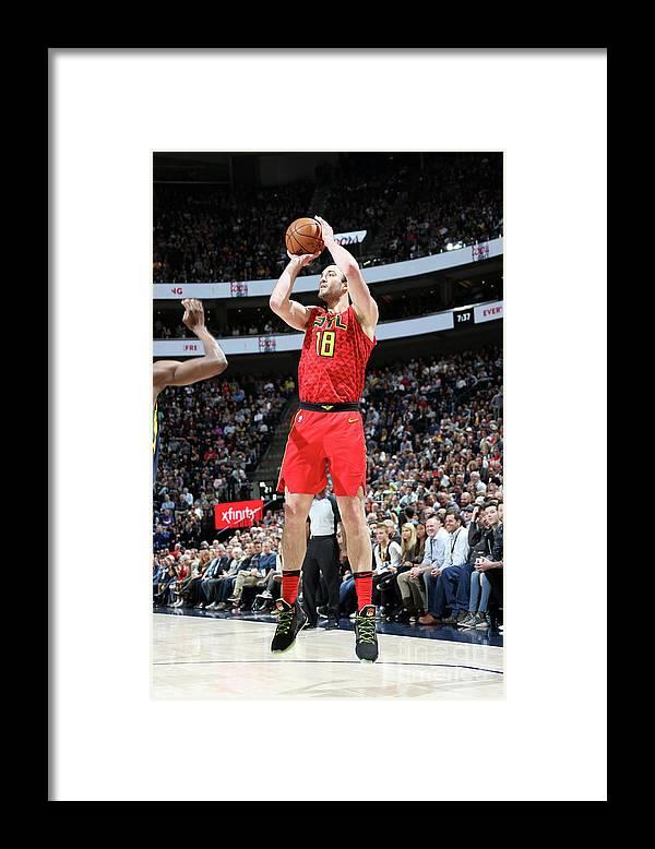 Nba Pro Basketball Framed Print featuring the photograph Miles Plumlee by Melissa Majchrzak
