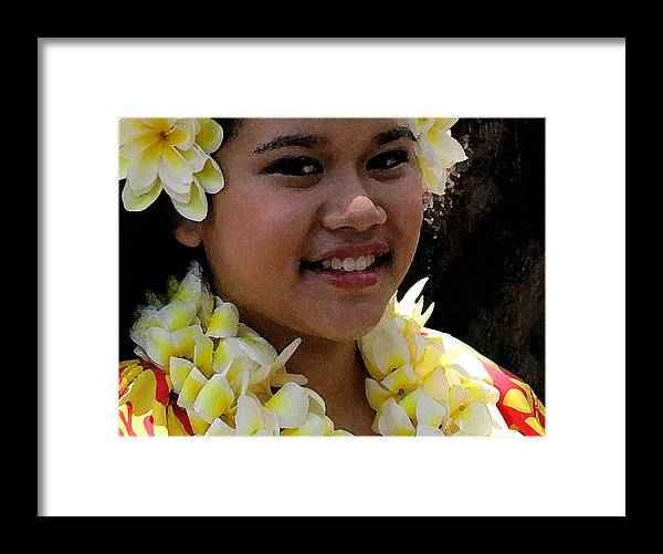 James Temple Framed Print featuring the photograph Molokai Dancer by James Temple
