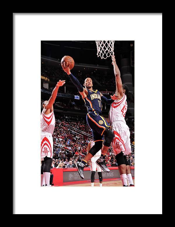 Nba Pro Basketball Framed Print featuring the photograph Monta Ellis by Bill Baptist