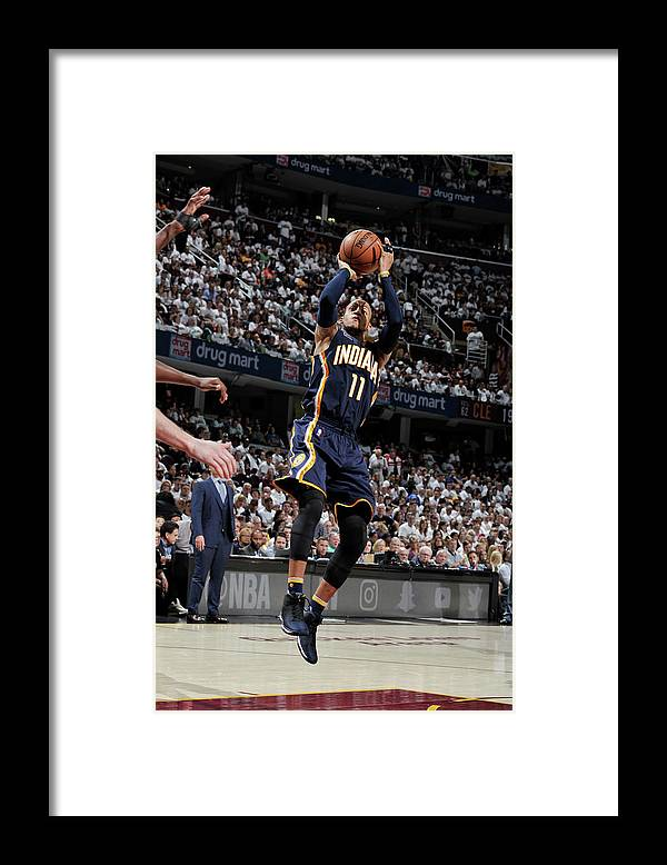 Playoffs Framed Print featuring the photograph Monta Ellis by David Liam Kyle