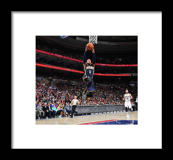 Nba Pro Basketball Framed Print featuring the photograph Monta Ellis by Jesse D. Garrabrant