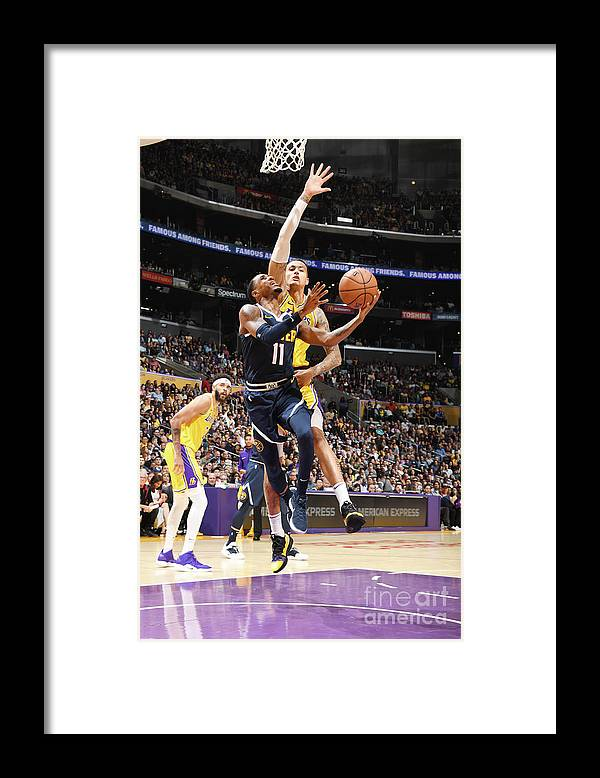Nba Pro Basketball Framed Print featuring the photograph Monte Morris by Andrew D. Bernstein