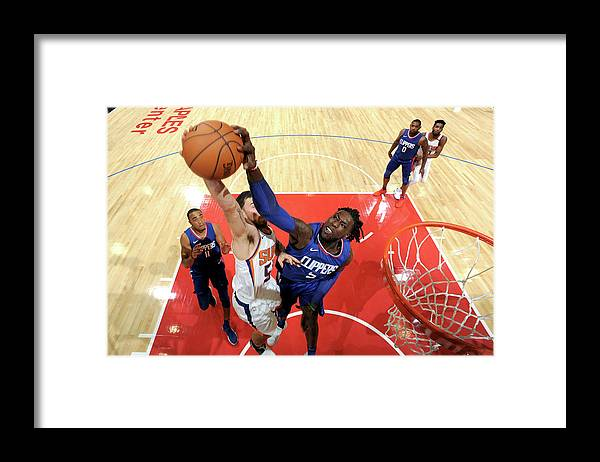 Nba Pro Basketball Framed Print featuring the photograph Montrezl Harrell by Andrew D. Bernstein