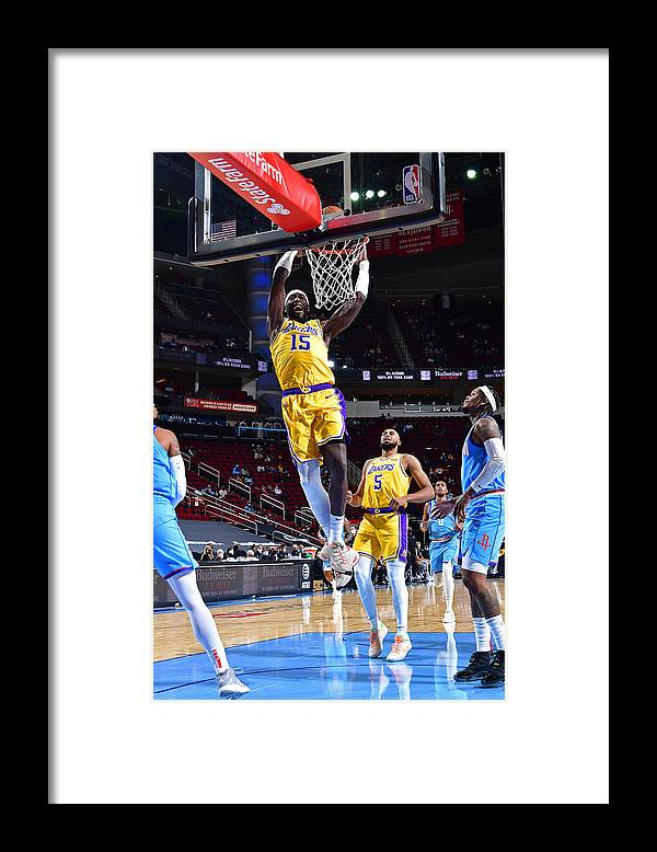 Nba Pro Basketball Framed Print featuring the photograph Montrezl Harrell by Cato Cataldo