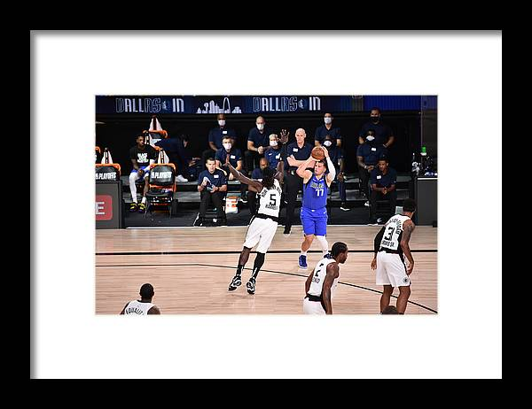 Playoffs Framed Print featuring the photograph Montrezl Harrell by David Dow