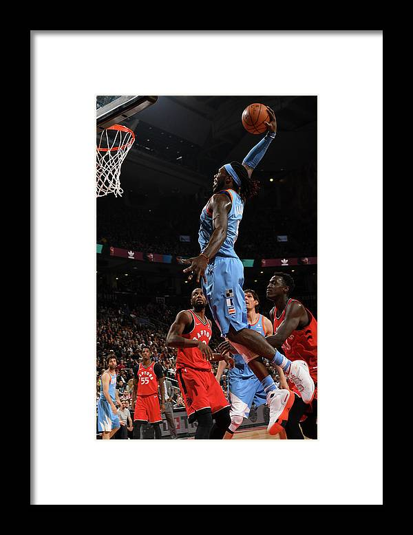 Nba Pro Basketball Framed Print featuring the photograph Montrezl Harrell by Ron Turenne