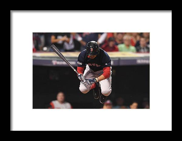 People Framed Print featuring the photograph Mookie Betts by Jason Miller