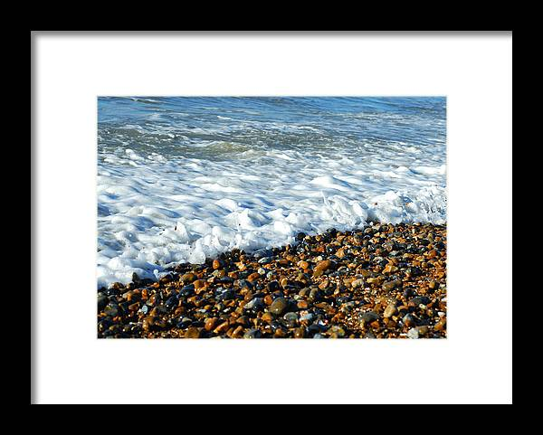Water's Edge Framed Print featuring the photograph Movement by Lyn Holly Coorg