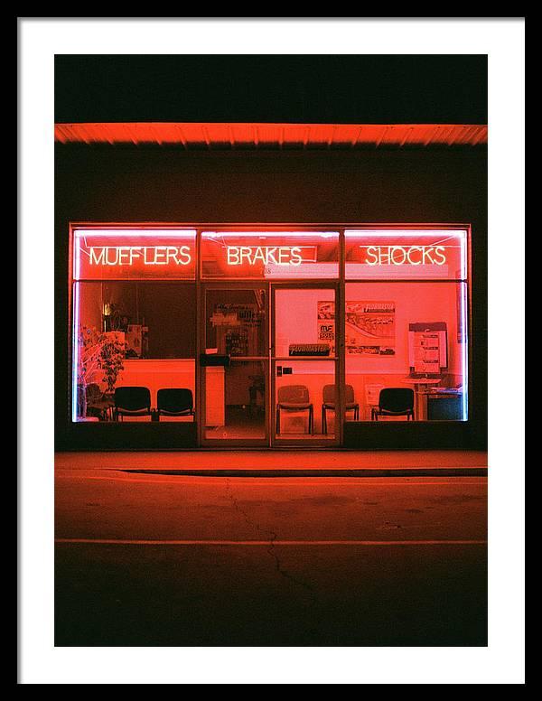 Muffler Shop by Olli Taylor