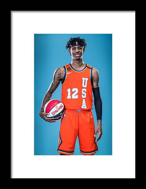 Nba Pro Basketball Framed Print featuring the photograph NBA Rising Stars Challenge by Michael J. LeBrecht II