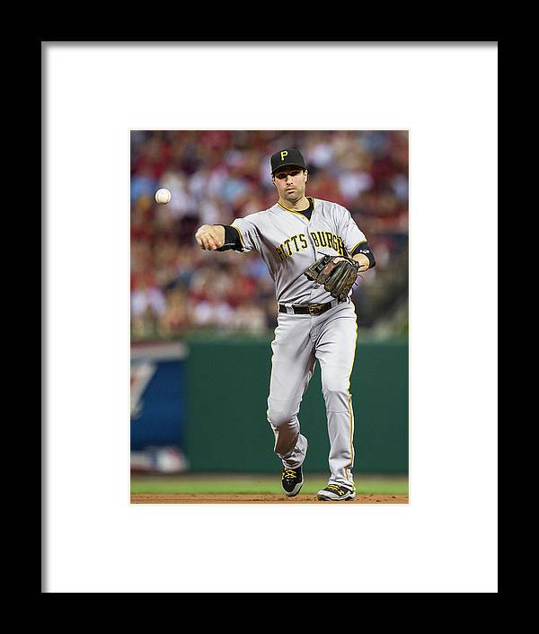 Second Inning Framed Print featuring the photograph Neil Walker by David Welker