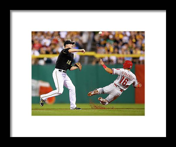 Double Play Framed Print featuring the photograph Neil Walker by Jared Wickerham
