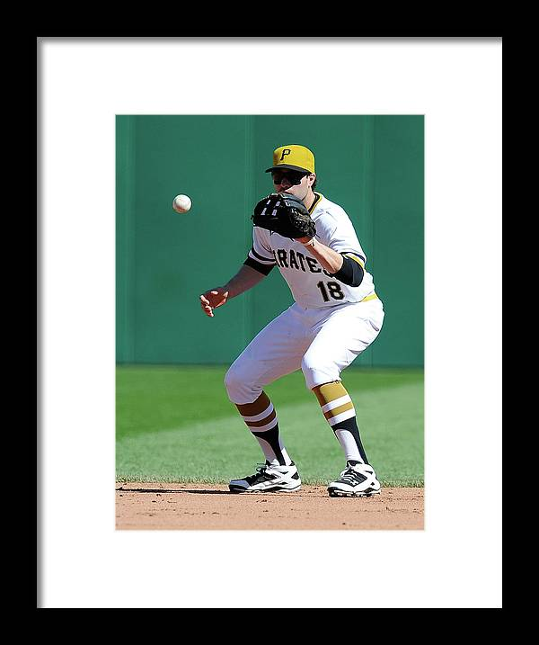 Pnc Park Framed Print featuring the photograph Neil Walker by Joe Sargent