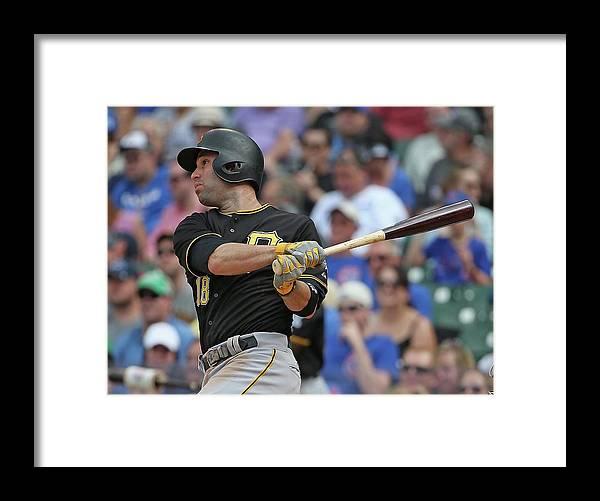 American League Baseball Framed Print featuring the photograph Neil Walker by Jonathan Daniel