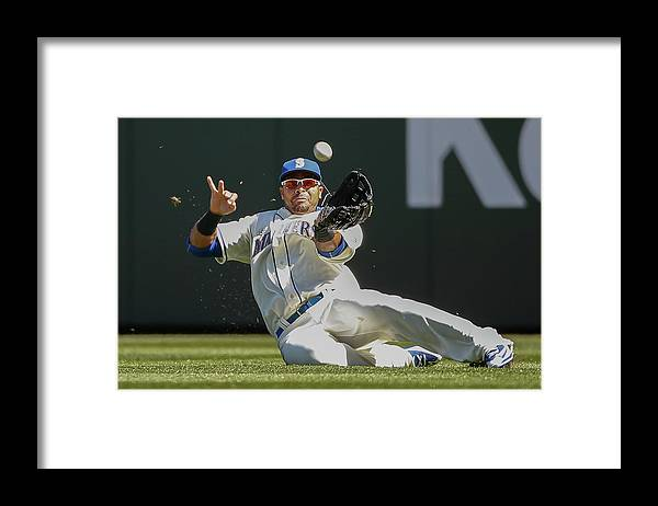 People Framed Print featuring the photograph Nelson Cruz by Otto Greule Jr