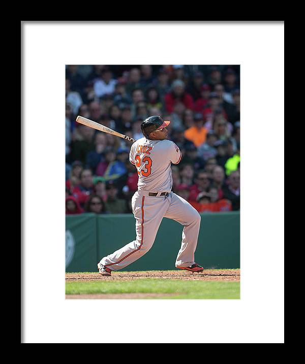 East Framed Print featuring the photograph Nelson Cruz by Rob Tringali