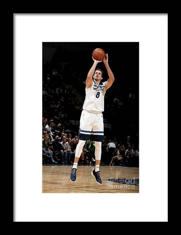 Nba Pro Basketball Framed Print featuring the photograph Nemanja Bjelica by David Sherman