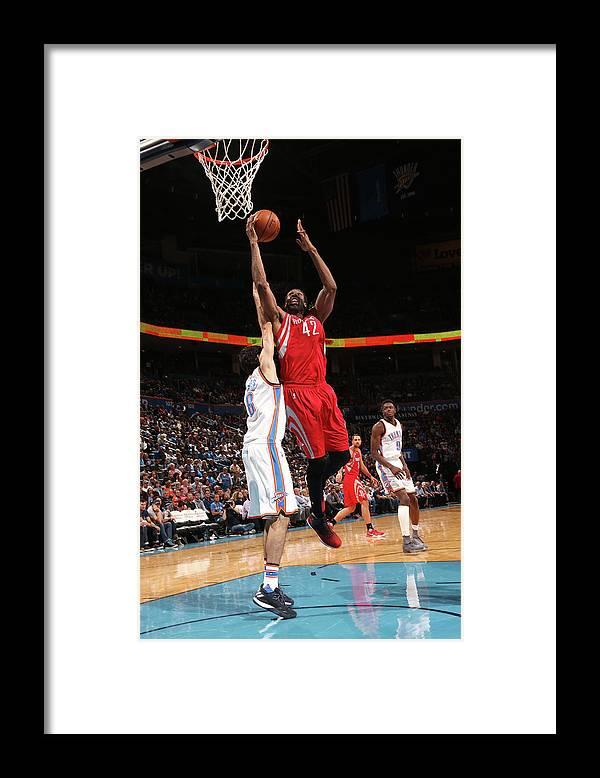 Nba Pro Basketball Framed Print featuring the photograph Nene Hilario by Layne Murdoch