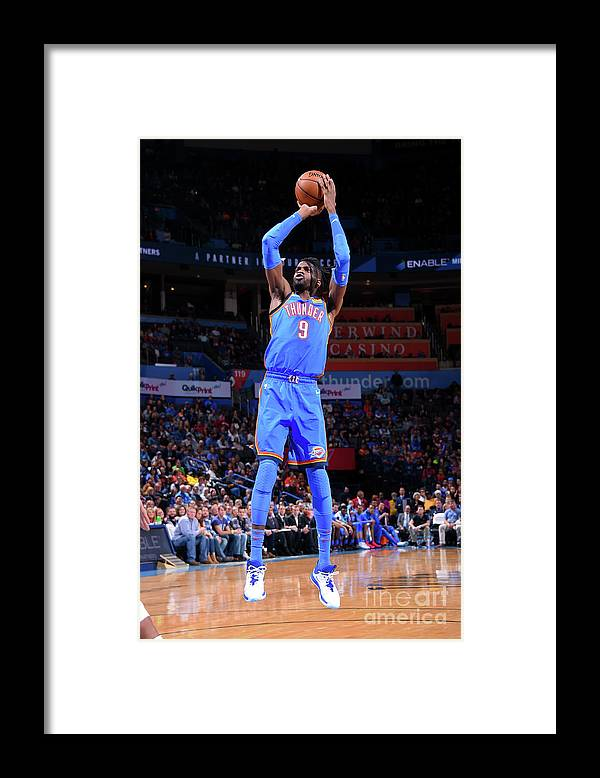 Nba Pro Basketball Framed Print featuring the photograph Nerlens Noel by Bill Baptist