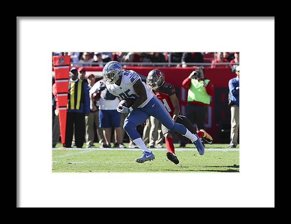 Tampa Framed Print featuring the photograph NFL: DEC 10 Lions at Buccaneers by Icon Sportswire