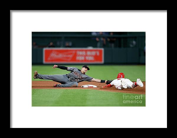 People Framed Print featuring the photograph Nick Ahmed by Scott Kane