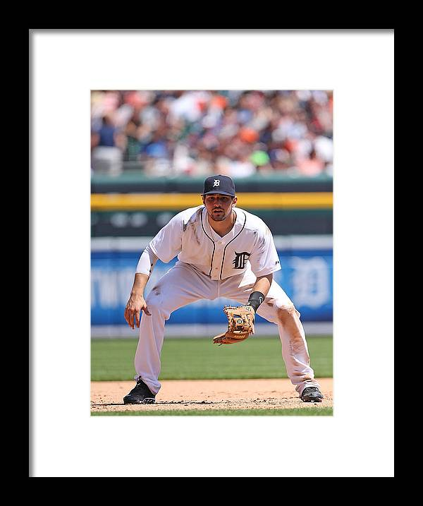American League Baseball Framed Print featuring the photograph Nick Castellanos by Leon Halip
