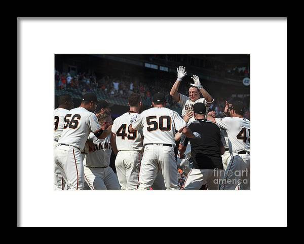 San Francisco Framed Print featuring the photograph Nick Hundley by Thearon W. Henderson