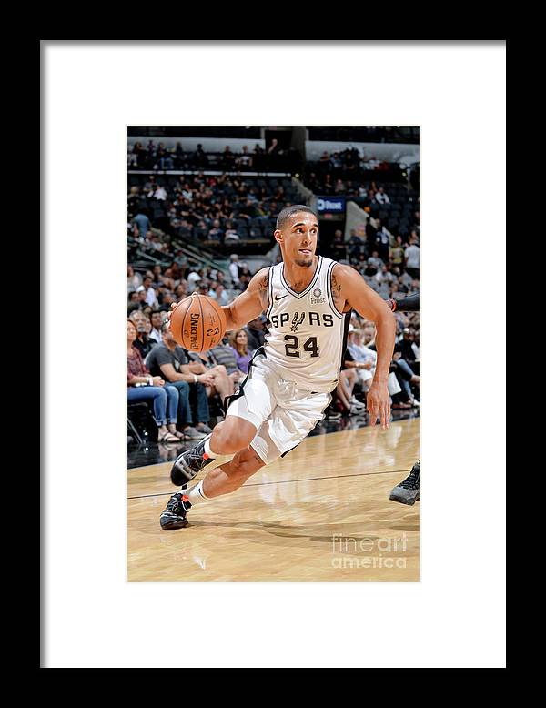 Nba Pro Basketball Framed Print featuring the photograph Nick Johnson by Mark Sobhani