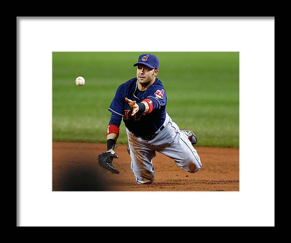 American League Baseball Framed Print featuring the photograph Nick Swisher by Jared Wickerham