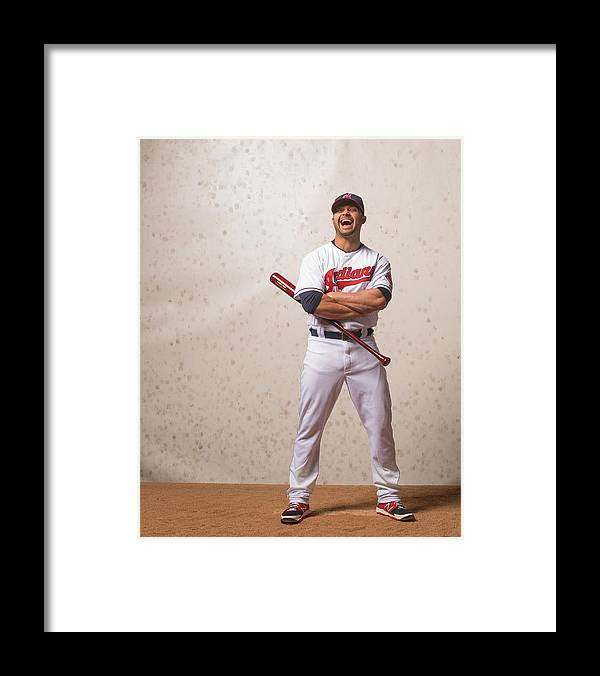 American League Baseball Framed Print featuring the photograph Nick Swisher by Rob Tringali