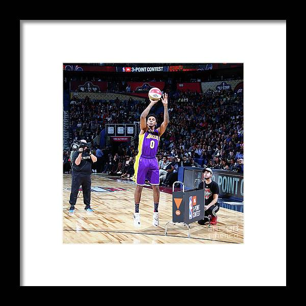 Event Framed Print featuring the photograph Nick Young by Nathaniel S. Butler
