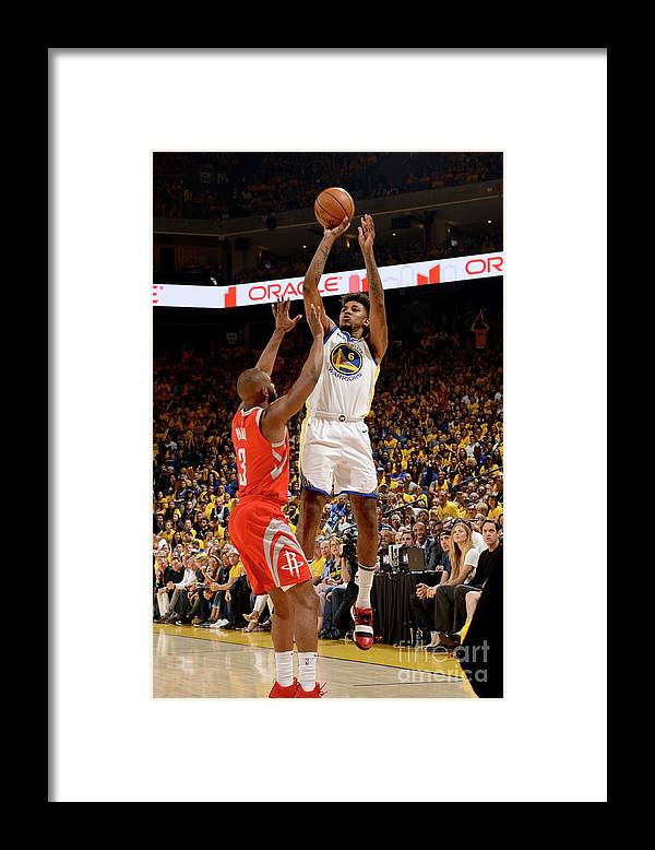 Playoffs Framed Print featuring the photograph Nick Young by Noah Graham