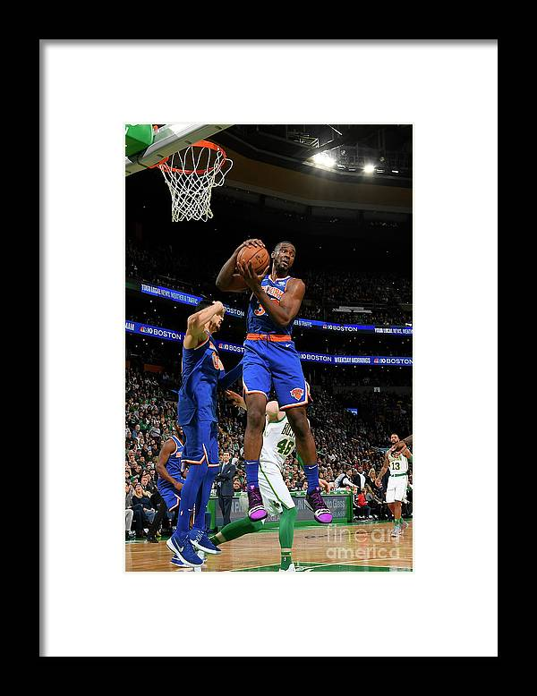 Nba Pro Basketball Framed Print featuring the photograph Noah Vonleh by Brian Babineau