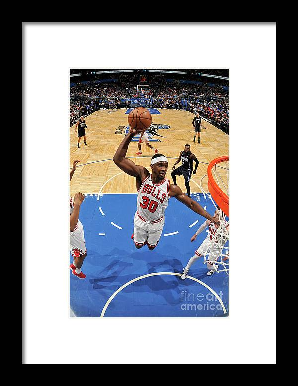 Nba Pro Basketball Framed Print featuring the photograph Noah Vonleh by Fernando Medina