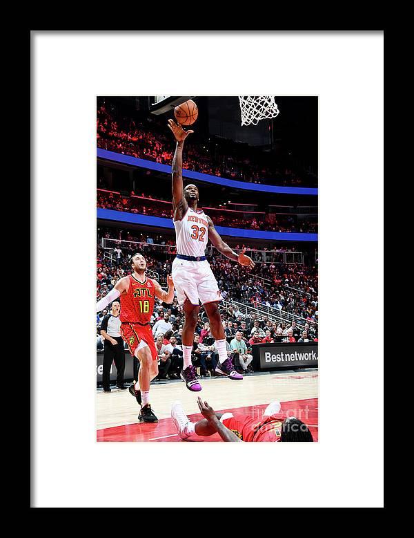 Atlanta Framed Print featuring the photograph Noah Vonleh by Scott Cunningham