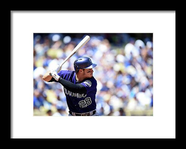 Second Inning Framed Print featuring the photograph Nolan Arenado by Harry How
