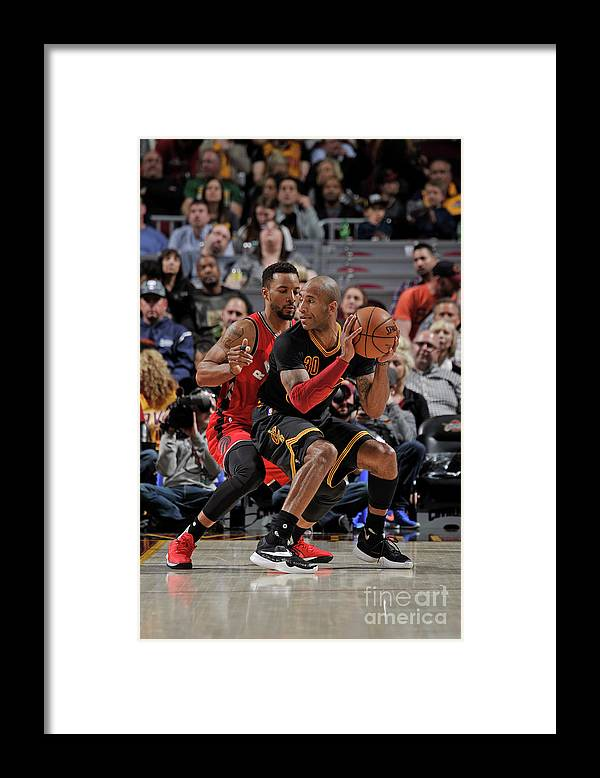 Nba Pro Basketball Framed Print featuring the photograph Norman Powell and Dahntay Jones by David Liam Kyle