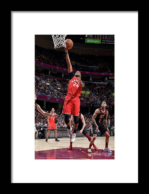 Nba Pro Basketball Framed Print featuring the photograph Norman Powell by David Liam Kyle