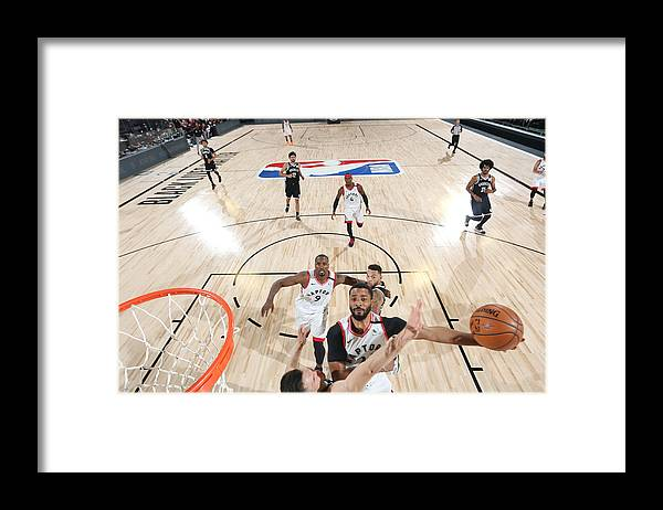 Playoffs Framed Print featuring the photograph Norman Powell by David Sherman