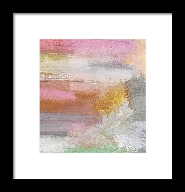 Abstract Framed Print featuring the painting Nothing Can Dim the Light by Patricia Byron