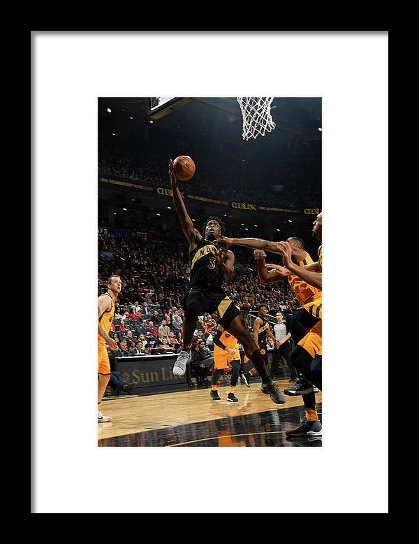 Nba Pro Basketball Framed Print featuring the photograph Og Anunoby by Ron Turenne