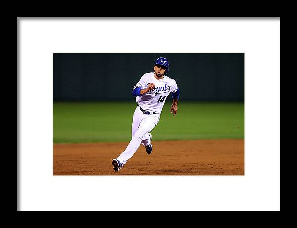 People Framed Print featuring the photograph Omar Infante by Elsa