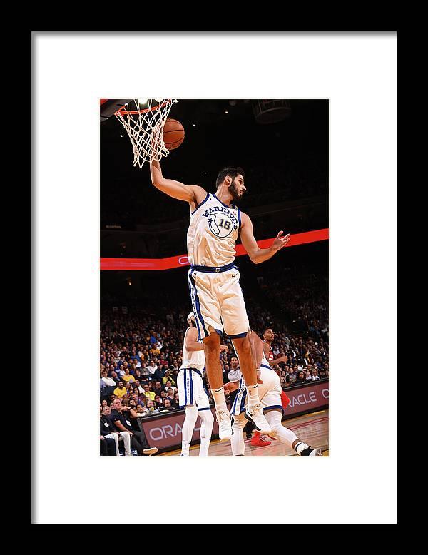 Nba Pro Basketball Framed Print featuring the photograph Omri Casspi by Noah Graham