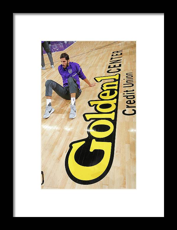 Nba Pro Basketball Framed Print featuring the photograph Omri Casspi by Rocky Widner